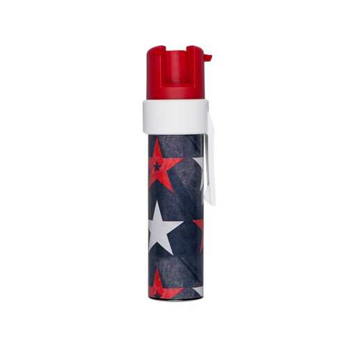 Sabre Red Patriotic Compact Pepper Gel with Clip