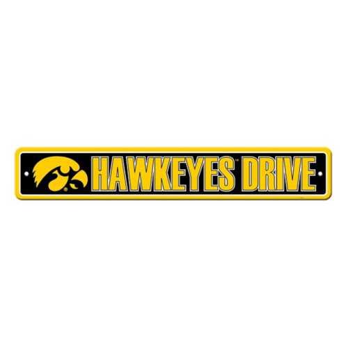 Fremont Die Iowa Hawkeyes Street Sign