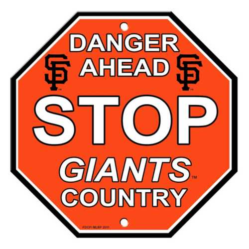Fremont Die San Francisco Giants Stop Sign
