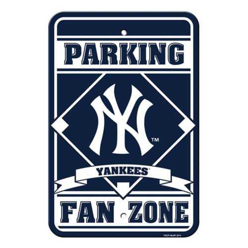 Fremont Die New York Yankees Fan Zone Sign