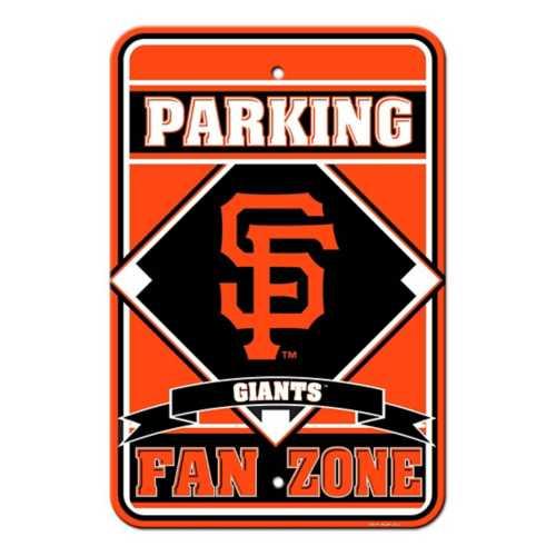Fremont Die San Francisco Giants Reserved Parking Sign