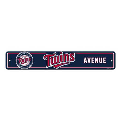 Fremont Die Minnesota Twins Street Sign