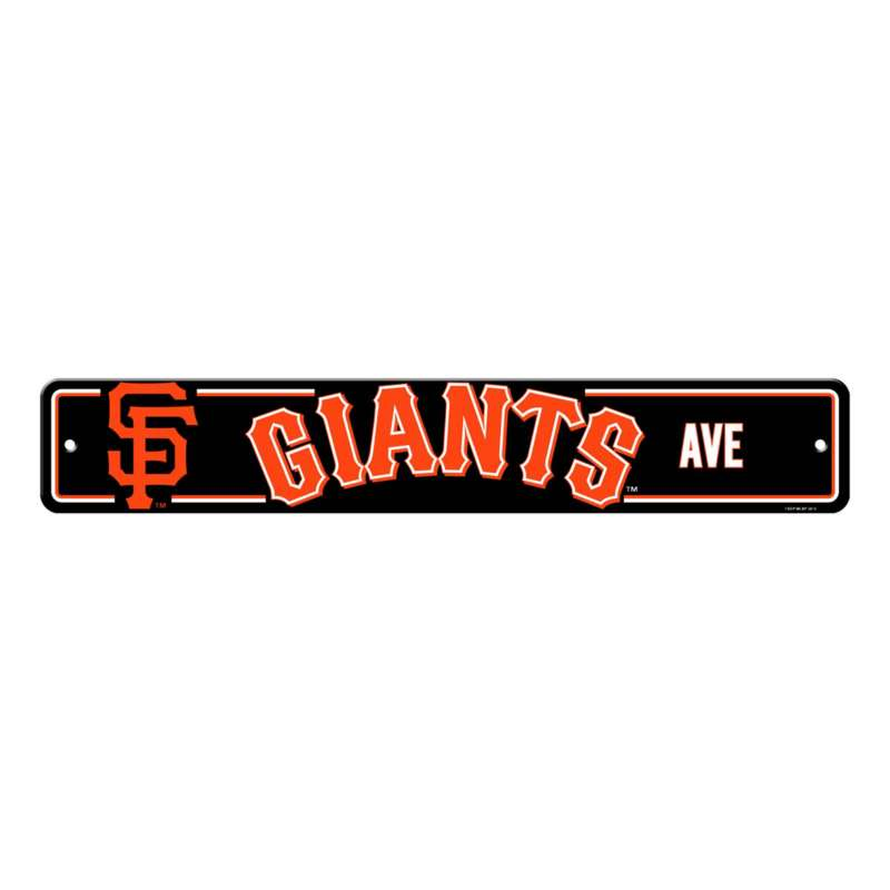 Fremont Die San Francisco Giants Street Sign