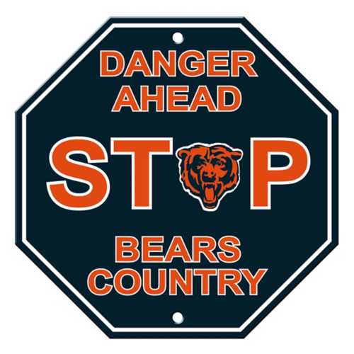 Fremont Die Chicago Bears Stop Sign