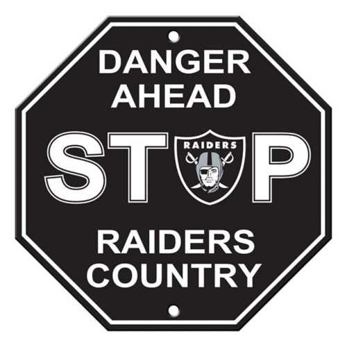 Fremont Die Las Vegas Raiders Stop Sign