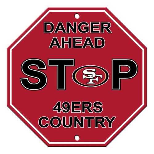 Fremont Die San Francisco 49ers Stop Sign