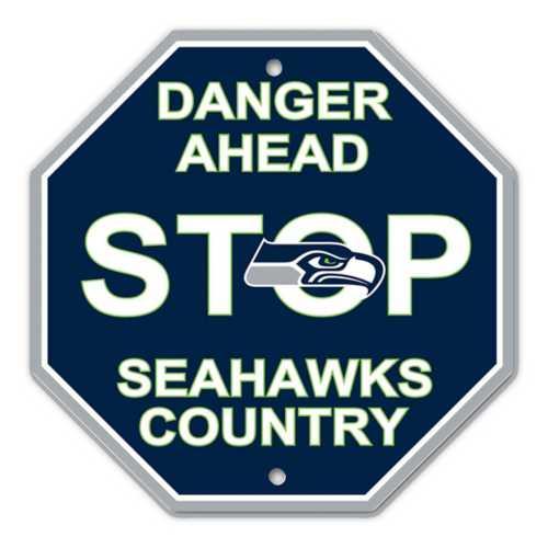 Fremont Die Seattle Seahawks Stop Sign