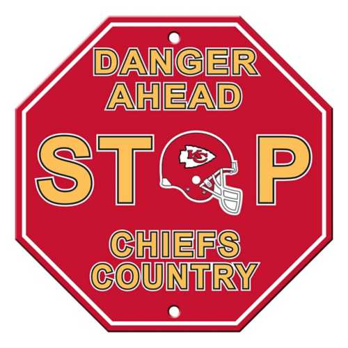 Fremont Die Kansas City Chiefs Stop Sign