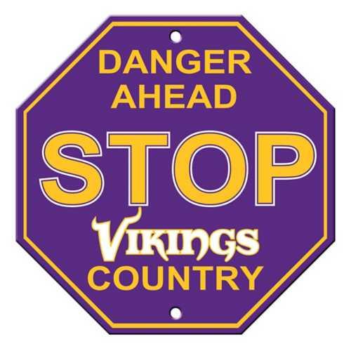 Fremont Die Minnesota Vikings Stop Sign