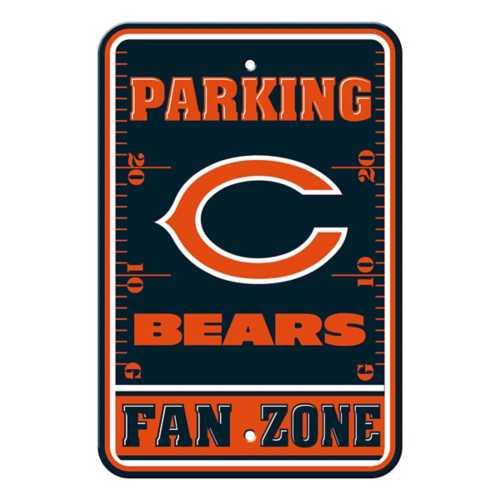 Fremont Die Chicago Bears Parking Sign
