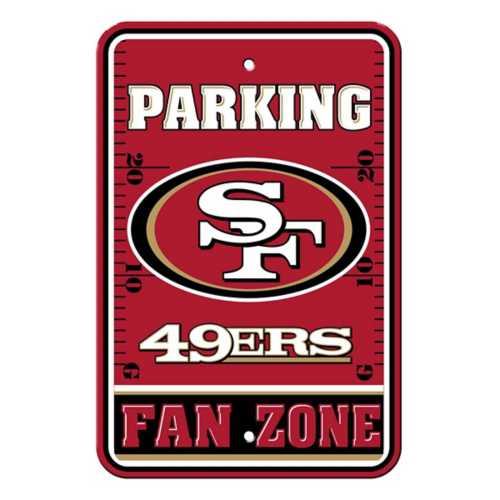 Fremont Die San Francisco 49ers Parking Sign