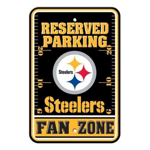 Fremont Die Pittsburgh Steelers Parking Sign