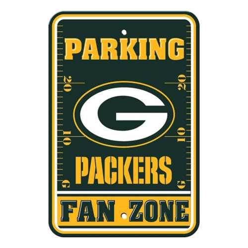Fremont Die Green Bay Packers Parking Sign