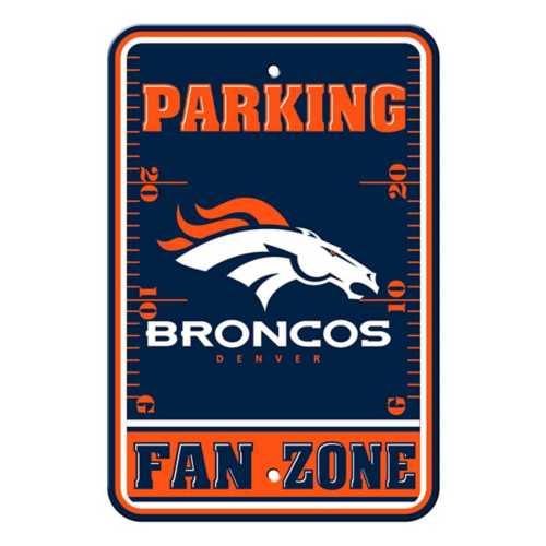 Fremont Die Denver Broncos Parking Sign