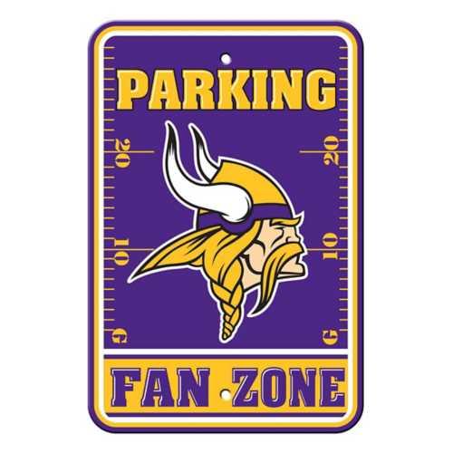 Fremont Die Minnesota Vikings Parking Sign