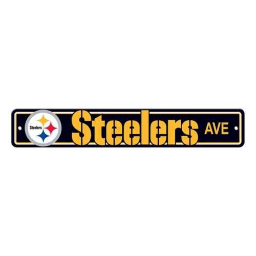 Fremont Die Pittsburgh Steelers Street Sign