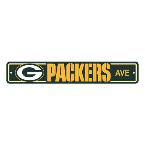 Fremont Die Green Bay Packers Street Sign