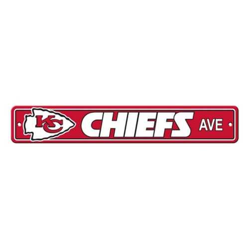 Fremont Die Kansas City Chiefs Street Sign