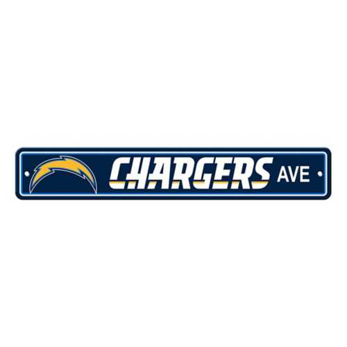 Fremont Die Los Angeles Chargers Street Sign