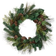 Sullivans Magnolia Pine Wreath with Bells