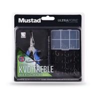 Mustad KVD Treble Hook Replacement Kit