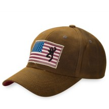 Browning Liberty Wax Hat with Flag