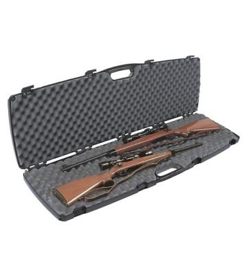 Plano Double Scoped Rifle Shotgun Case' data-lgimg='{