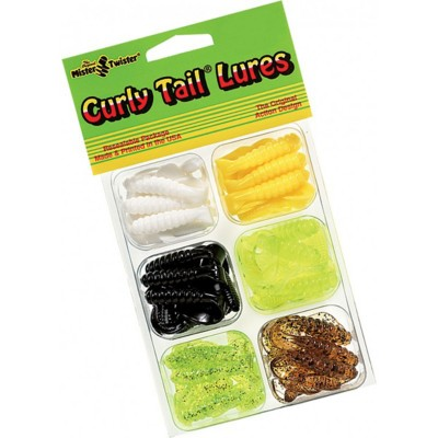 Mister Twister Curly Tail Lure Kit 78 Pieces