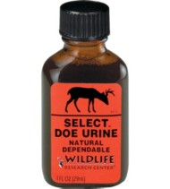 Wildlife Research Center Select Doe Urine Scent