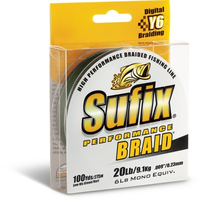 Sufix Performance Braid Line Spool