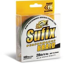Sufix Performance Braid Line 100 Yd Spool