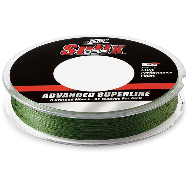 Sufix 832 Advanced Superline Braid Fishing Line Low-Vis Green 150yd Pick