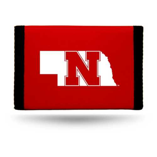 Rico Nebraska Cornhuskers Nylon Trifold Wallet