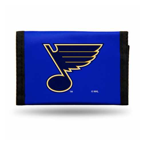 Rico St. Louis Blues Nylon Trifold Wallet
