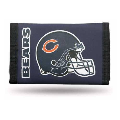 Rico Chicago Bears Nylon Trifold Wallet