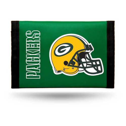 Rico Green Bay Packers Nylon Trifold Wallet