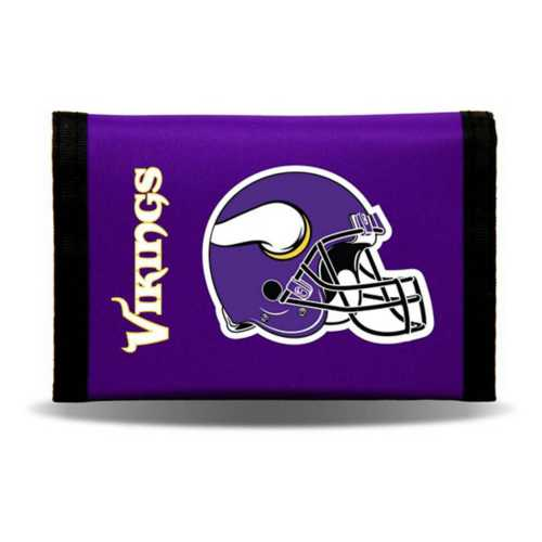 Rico Minnesota Vikings Nylon Trifold Wallet