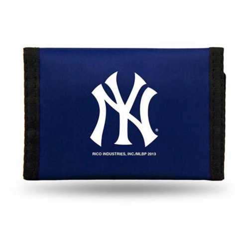 Rico New York Yankees Nylon Trifold Wallet