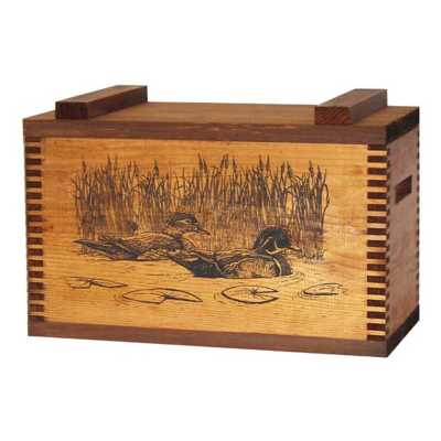 Evans Sports Decorative Ammo Box