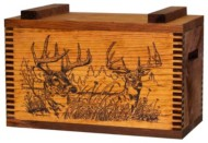 Evans Sports Decorative Ammo Box
