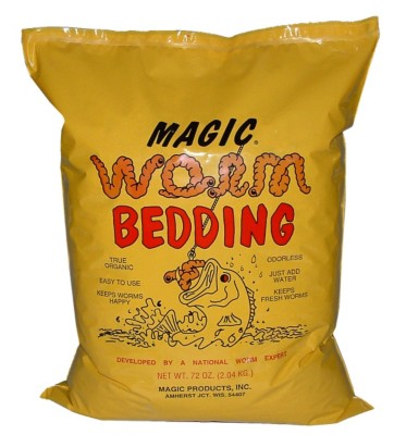 Magic Worm Bedding - 4 1/2 lb bag