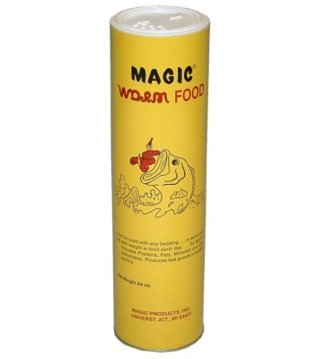 Magic Worm Food - 24oz