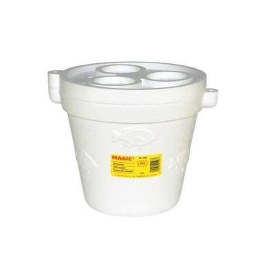 Magic Foam Minnow Bucket with Cover' data-lgimg='{