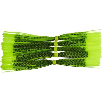 7656 Chartreuse/Chartreuse Tip Black Flake