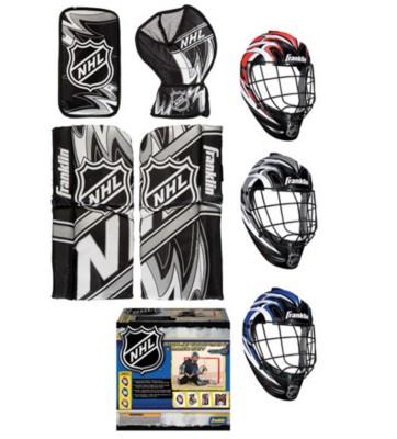 Franklin Sports Mini Goalie Equipment & Mask Set' data-lgimg='{