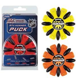 Franklin Sports ATV Hummer Street-Roller Hockey Puck' data-lgimg='{