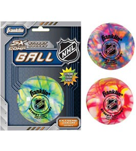Franklin Sports Extreme Color High Density Street-Roller Hockey Ball