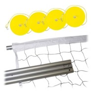 Franklin Sports Expert Steel Volleyball Set