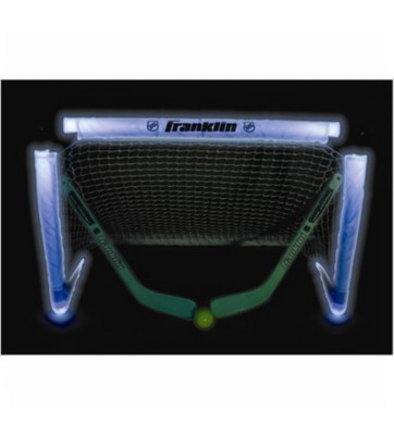 Franklin Sports Light Up Mini Hockey Goal Set