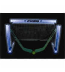 Franklin Sports Light Up Mini Hockey Goal Set